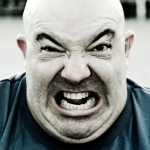 Angry fat guy