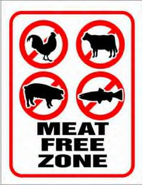 No meat zone