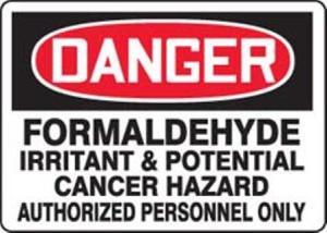 Formaldhyde-Sign