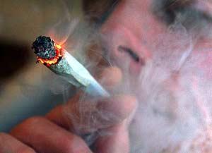 Pot smoke